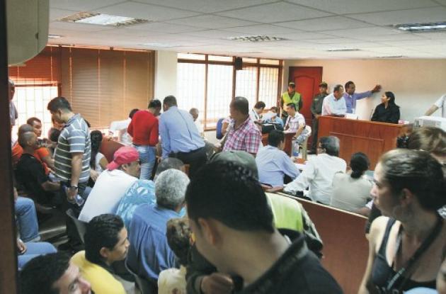 La Juez 11 Penal Municipal con Funciones de Garantías de Cartagena presidió la a