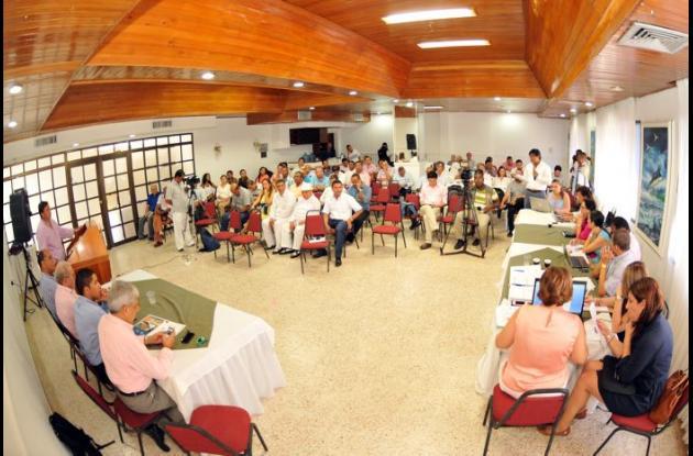 Audiencia pública de adjudicación de recaudo y operación de Transcaribe.