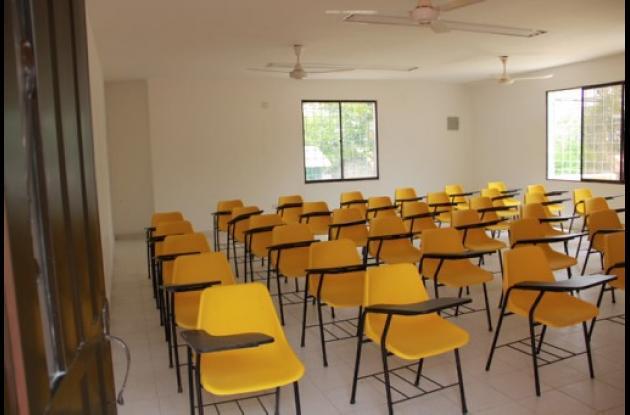 aulas CREAD de Montes de María.