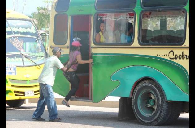 Aumento del costo del transporte público en Cartagena