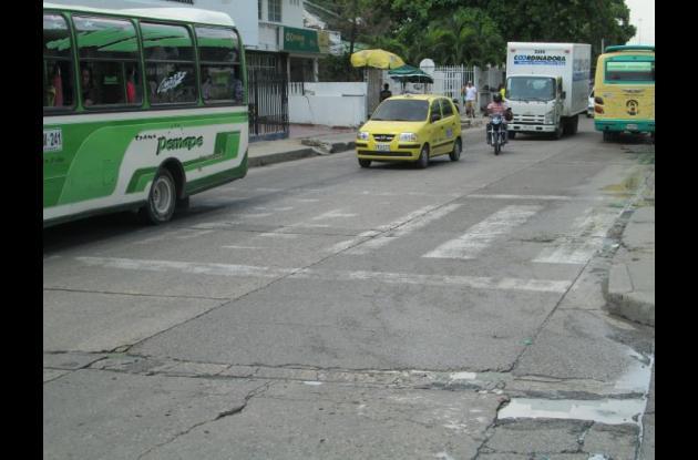 Avenida Jiménez.