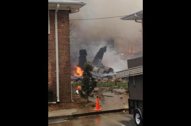Accidente de avión en Virginia