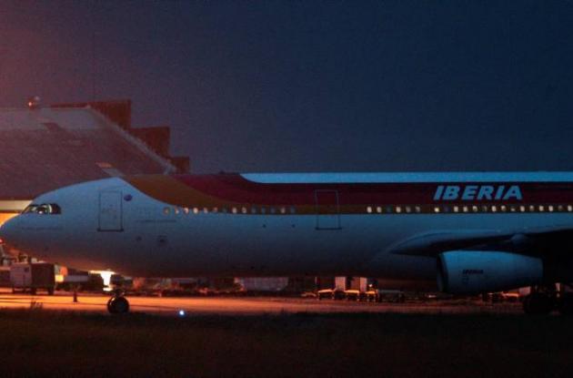 Avión Iberian España