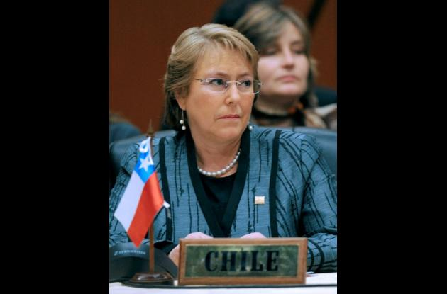 Ex presidenta de Chile  Michelle Bachelet