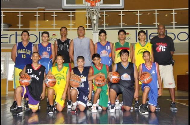 Selección Bolívar de Baloncesto Sub-15.