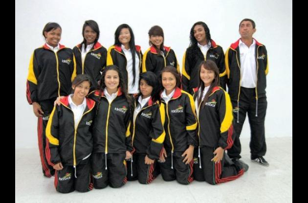 La selección Bolívar de baloncesto femenino.