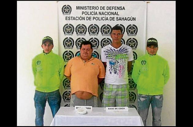 Luis Carlos Gañán y José Manuel Rivera, capturados.