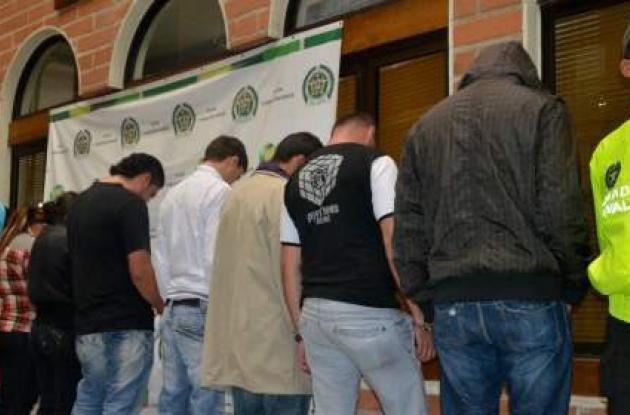 Personas capturadas en Medellín por turismo sexual.
