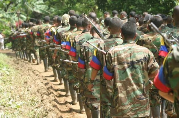 Bandas criminales en Colombia