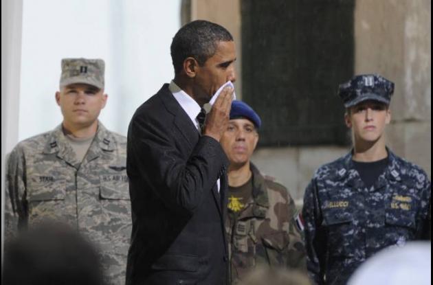 Visita de Barack Obama a Cartagena, Colombia.