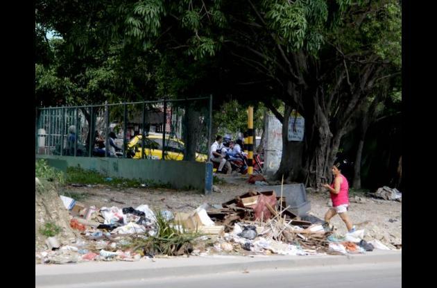 basurero satélite barrio campestre