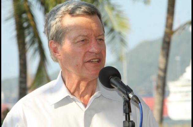 Max Baucus, jefe de la comisión de Finanzas del Senado.