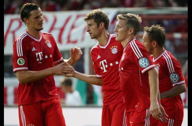 Jugadores del Bayern Múnich.