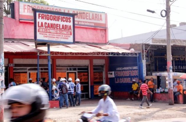 Obras del tramo 5A de Transcaribe.
