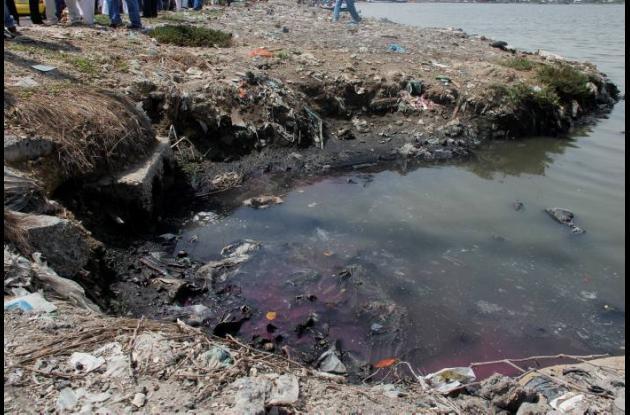 Contaminación de la Ciénaga de las Quintas