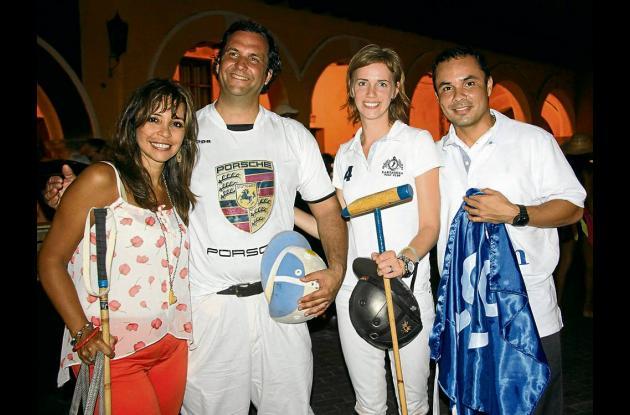 Inauguración de Cartagena Beach Polo Cup