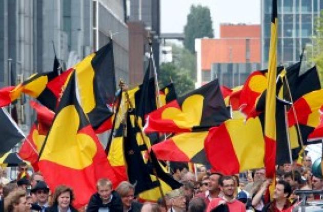 Celebración belga.