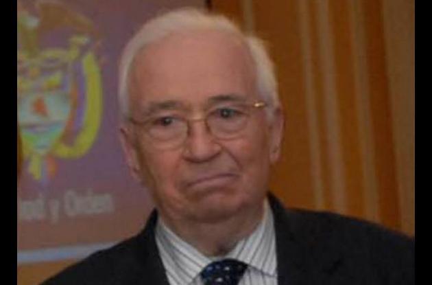 Belisario Betancurt , expresidente de Colombia.