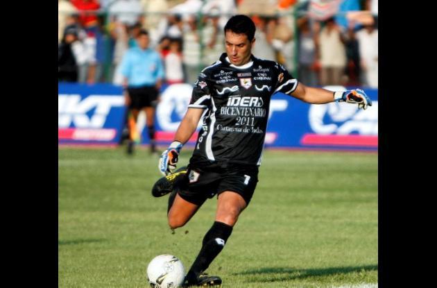 Adrián Berbia, portero de Real Cartagena.