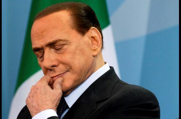 Silvio Berlusconi, primer ministro de Italia.