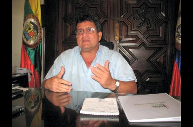 Alberto Bernal Jiménez, gobernador de Bolívar.