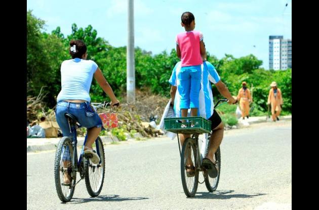 Buscan masificar uso de la bicicleta como medio de transporte.