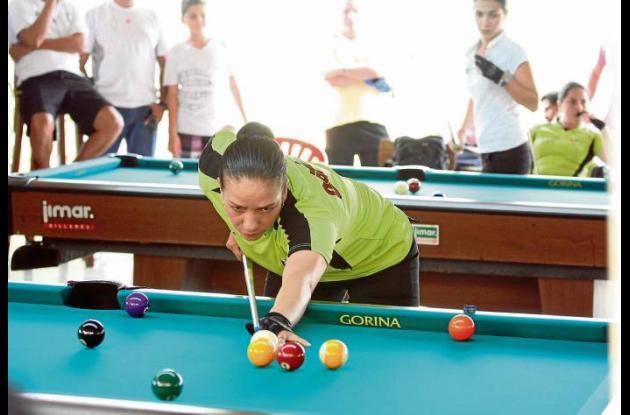 Grand Prix Colombiano de Billar Pool Bola 9 rama Femenina