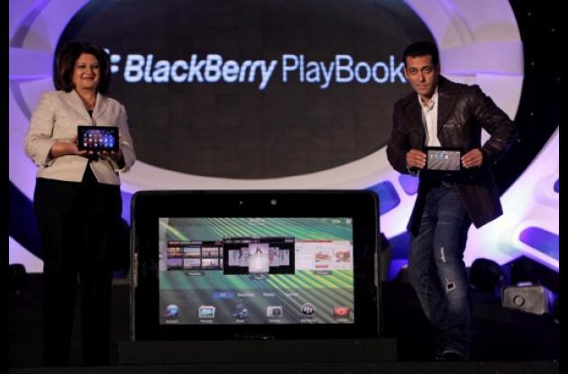 Llegó hoy a Colombia la tableta BlackBerry PlayBook.