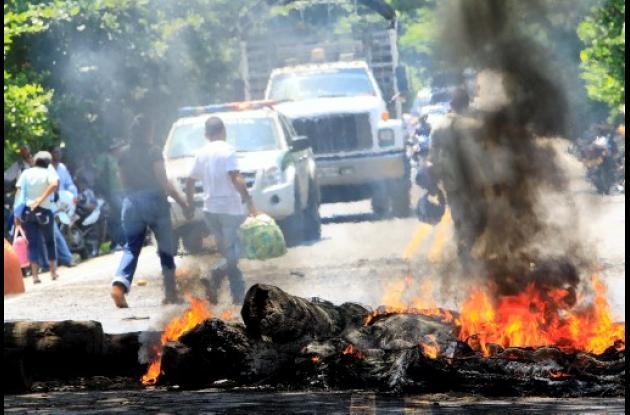 La comunidad de Malagana bloqueó la Troncal de Occidente por 6 horas.