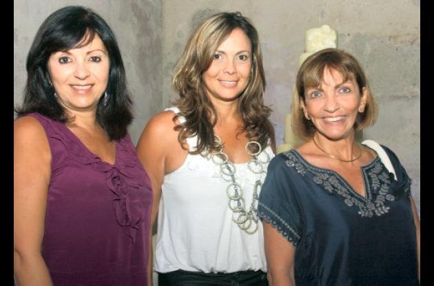 Rocio Yidios, Judith Martinez y Magdalena Minervini