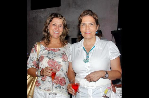 Gloria Falla y Martha Lucía Noguera.