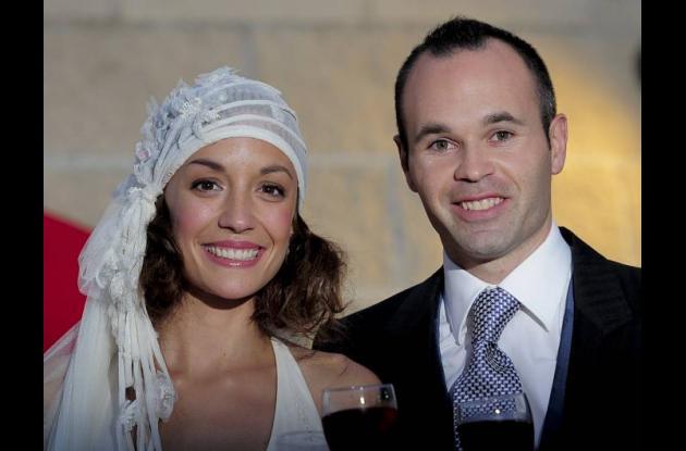 Andrés Iniesta & Anna Ortíz