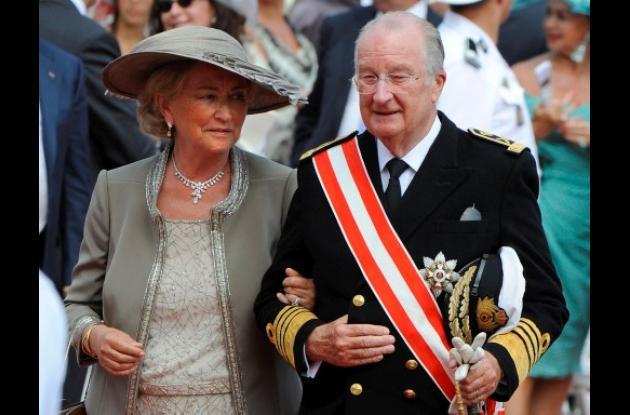 El rey de Bélgica Alberto II y la reina Paola.