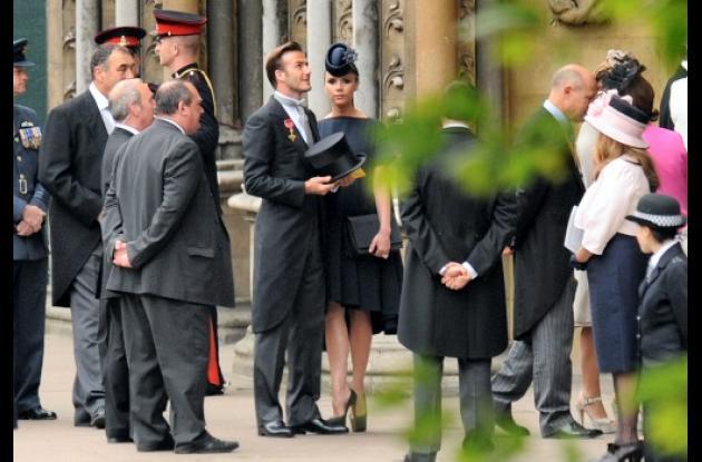 David Beckham y( Victoria Beckham .