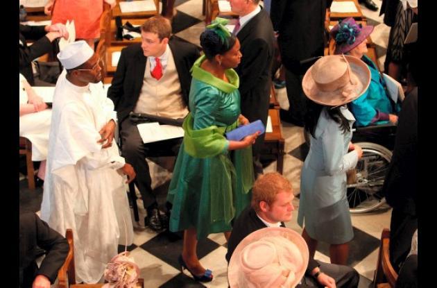 La gala de la Boda entre el príncipe Guillermo y Kate Middleton.