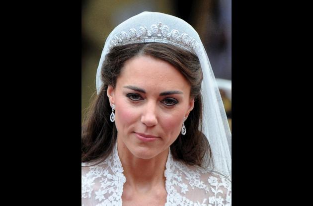 Kate Middleton y el príncipe Guillermo.
