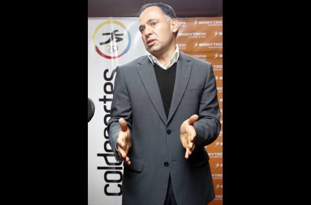 Nicolas Loaiza, presidente ejecutivo de Bodytech.