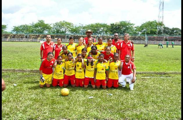 Selección Bolívar de fútbol femenina.