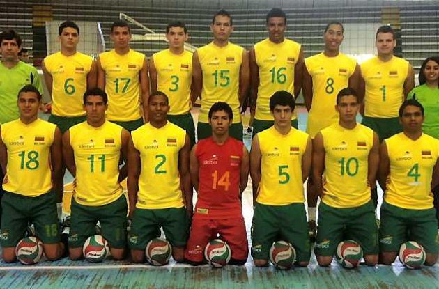 Selección Bolívar de voleibol masculino.