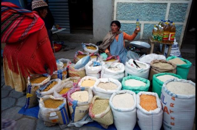 Bolivia vive una de sus peores crisis alimentaria.