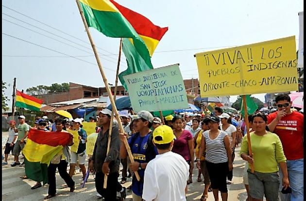 Bolivia está en pie contra el gobierno de Evo Morales.