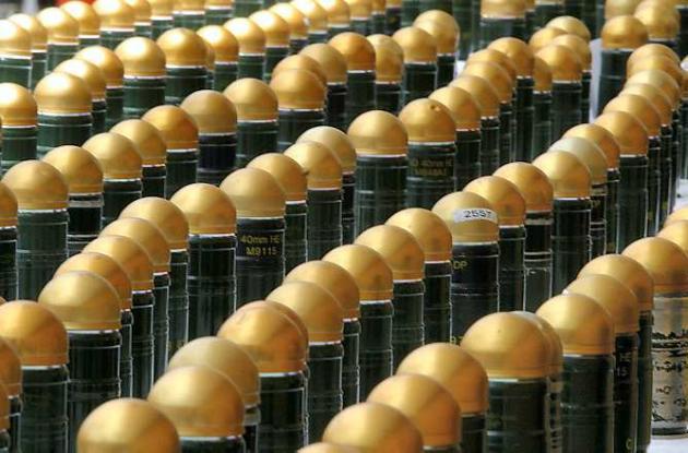 Las bombas de racimo han sido prohibidas por una ley internacional