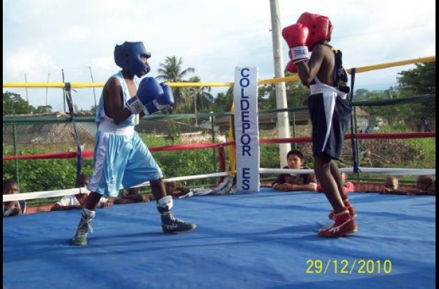 boxeo en Bolivar