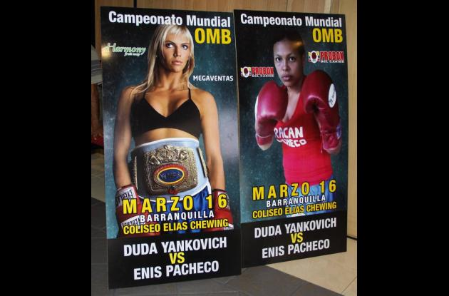 Enis Pacheco, boxeadora cordobesa que busca título  mundial.