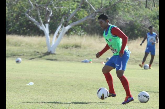 Breiner Belalcázar, jugador del Junior de Barranquilla, fue asaltado en el norte
