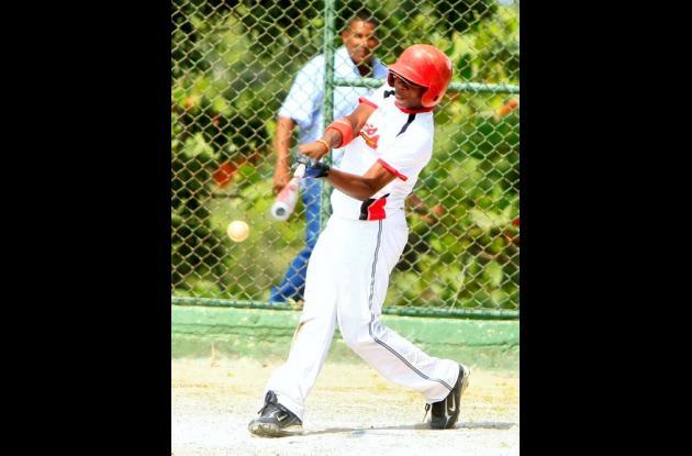 el prospecto Bryan Pérez, campeon de bateo del béisbol de desarrollo