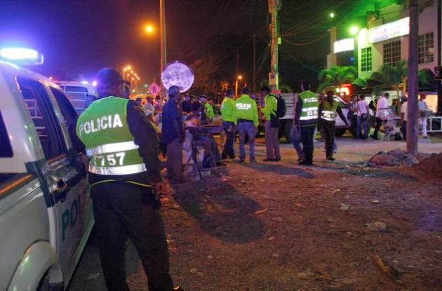 Operación de la Policía Metropolitana de Cartagena en burdeles