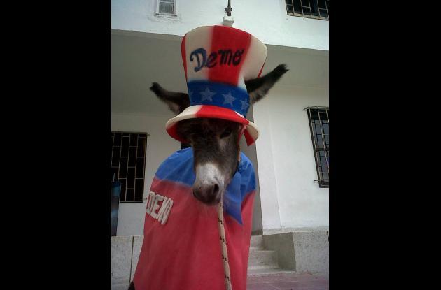 Silvio Carrasquilla le quiere regalar un burro a Obama