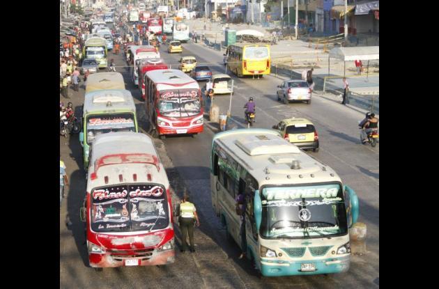Aumento de costos de transporte público en Cartagena