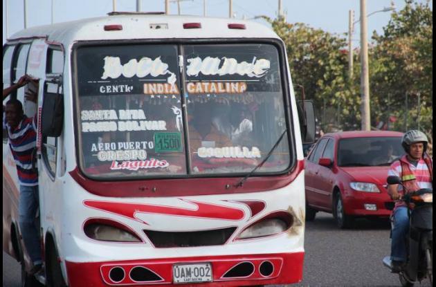 Restricción para entrada de buses y busetas a Bocagrande, en Cartagena.